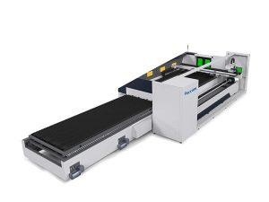 6000mm metal tüp lazer kesim makinesi otomatik odaklama yüksek hassasiyetli