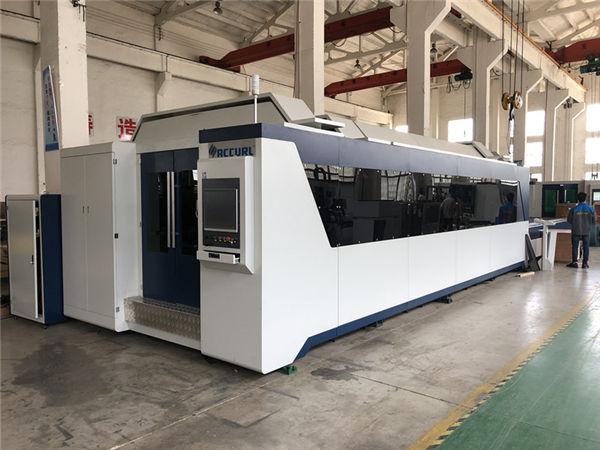 Profesyonel cnc fiber lazer kesim makinesi ile 1000 w 1500 w değişim tablosu