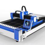 500w fiber lazer kesim makinesi paslanmaz çelik / ms yüksek hız 100m / dak