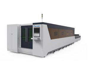 metal işleme endüstriyel lazer kesim makinesi tam kaplı tip 1000w