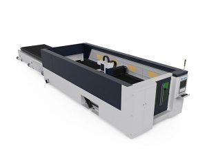 Paslanmaz çelik açık yapı için cnc lazer kesim makinesi