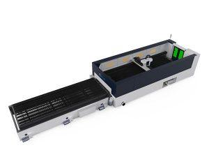 Yüksek hassasiyetli metal fiber lazer kesim makinesi 500 w raycools kesme kafası