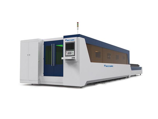 2.5g'ye kadar yüksek ivme ile fiber lazer kesim makinesi 500-6000W