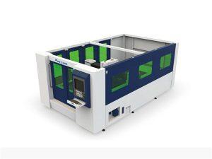 Kapalı tüp ve levha için mini 500w fiber lazer kesim makinesi