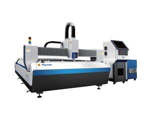 Açık tip fiber lazer metal kesme makinası, cnc lazer oyma kesme makinası