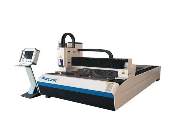 1 - 3mm metal kesme için su soğutma metal fiber lazer kesim makinesi