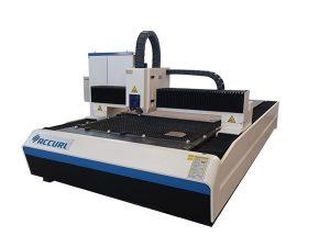 Hafif çelik levha / demir plaka kullanılan 2000w fiber lazer kesim makinesi