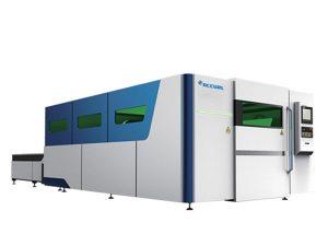 reklam metal fiber lazer kesim makinesi küçük boyutlu 1070nm dalga boyu