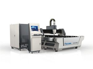 Kompakt tasarım endüstriyel lazer kesim makinesi yüksek kesme hızı 380 v