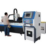 Su soğutma fiber lazer metal kesme makinası, el sanatları için lazer kesme makinesi