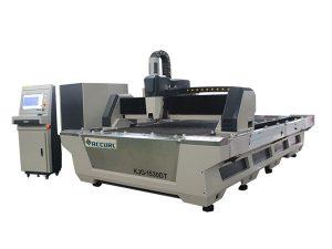Karbonlu çelik kesme için yüksek hassasiyetli endüstriyel lazer kesim makinesi 1000w