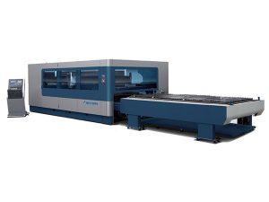 Cnc metal endüstriyel lazer kesim makinesi 380 v / 50 hz 1kw 1.5kw lazer kaynağı