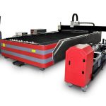 Kapalı tip cnc fiber lazer kesim makinesi 500 w / 1000 w yüksek mukavemetli