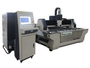 Cnc metal fiber lazer kesim makinesi için yüksek kesme hızı karbon çelik