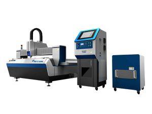 Sanayi üretimi için çift sürücü fiber lazer tüp kesme makinası yüksek kesme hızı