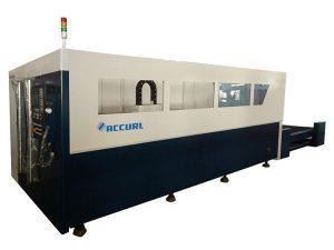 Su soğutma ile 700-2000w fiber metal lazer kesim makinesi