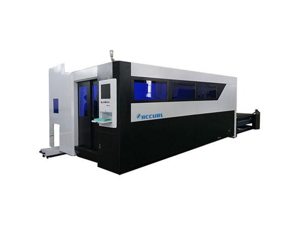 Karbon çelik için 500w fiber lazer kesim makinesi