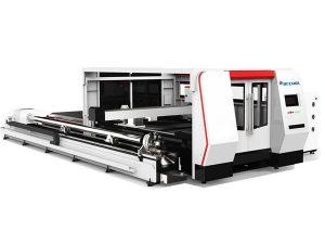 Cypcut kontrol sistemi ile cnc fiber lazer tüp kesme makinası 1000 w