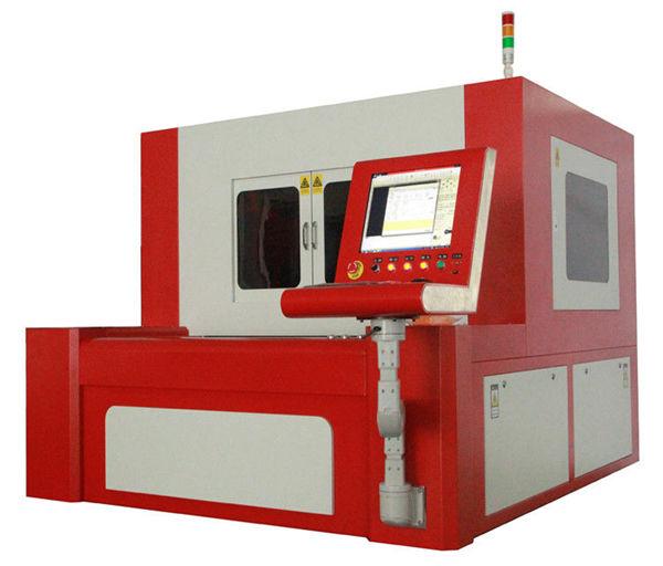 karbon çelik için küçük elyaf hassas lazer kesim makinesi