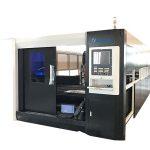 3000 w fiber cnc lazer metal kesme makinası portal çift sürüş yapısı