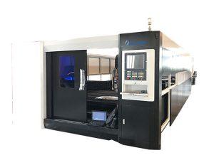 Sac paslanmaz çelik fiber lazer kesim makinesi 1000 w yüksek hassasiyetli